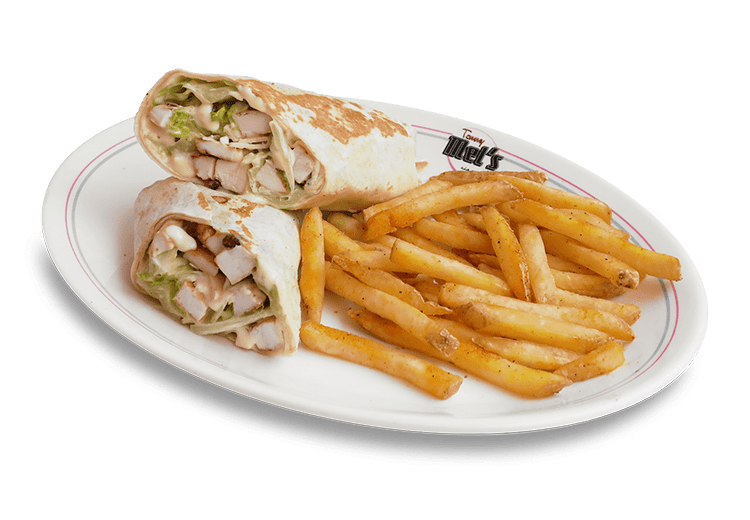CESAR & CHICKEN WRAP